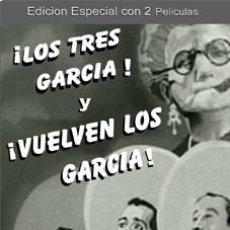 Cine: LOS TRES GARCIA / VUELVEN LOS GARCIA DOS DVD'S NUEVOS - PEDRO INFANTE , SARA GARCIA. Lote 98517127