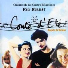 Cine: CUENTO DE VERANO -MELVIN POUPAUD, AMANDA LANGLETT DVD NUEVO. Lote 98517139