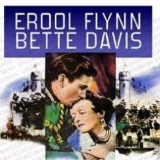 Cine: MI REINO POR UN AMOR - ERROL FLYNN, BETTE DAVIS DVD NUEVO. Lote 98517179