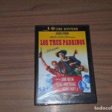 Cine: LOS TRES PADRINOS DVD DE JOHN FORD JOHN WAYNE NUEVA PRECINTADA. Lote 98545643