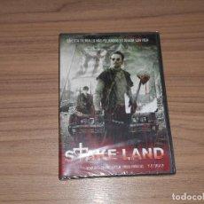 Cine: STAKE LAND DVD TERROR NUEVA PRECINTADA. Lote 98546087