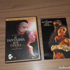 Cine: EL TERROR DE LA OPERA EDICION ESPECIAL 2 DVD . Lote 98546127