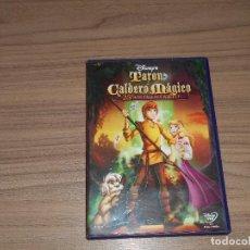 Cine: TARON Y EL CALDERO MAGICO DVD CLASICO DISNEY Nº 25. Lote 98546915