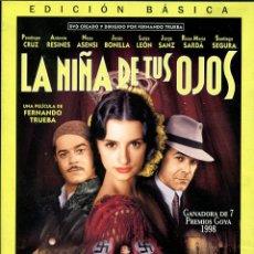 Cine: LA NIÑA DE TUS OJOS DVD. Lote 98547372