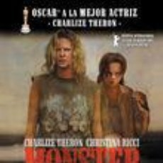 Cine: MONSTER (2003) DRAMA   CRIMEN. PROSTITUCIÓN. ASESINOS EN SERIE. HOMOSEXUALIDAD. AÑOS 80. AÑOS 90. Lote 98562235