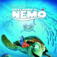 Cine: BUSCANDO A NEMO (2003) ANIMACIÓN. AVENTURAS. COMEDIA. INFANTIL   AVENTURAS MARINAS. FAMILIA. PIXAR.. Lote 98562367