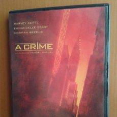 Cine: CINE DVD PELICULA A CRIME. Lote 98574471