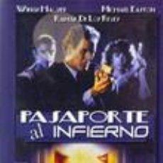 Cine: PASAPORTE AL INFIERNO (1990) ACCIÓN. THRILLER. Lote 98580083