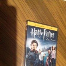 Cine: HARRY POTTER Y EL CALIZ DE FUEGO. DVD EN BUEN ESTADO. . Lote 98592347