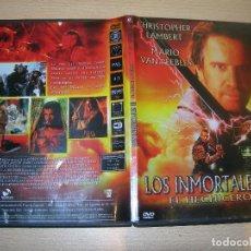 Cine: PELICULA LOS INMORTALES III EL HECHIZERO DVD ENVIO GRATUITO. Lote 98598651