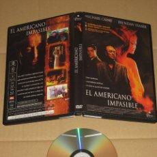 Cine: EL AMERICANO IMPASIBLE __ DVD. Lote 98628371