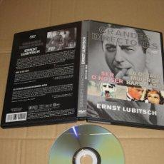 Cine: GRANDES DIRECTORES- ERNST LUBITSCH: SER O NO SER / LA OCTAVA MUJER DE BARBA AZUL __ DVD. Lote 98640951