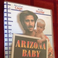 Cine: ARIZONA BABY. JOEL COEN, ETHAN COEN. (NICOLAS CAGE, HOLLY HUNTER). Lote 98678639