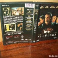 Cine: SLEEPERS - KEVIN BACON - ROBERT DE NIRO - BRAD PITT - DUSTIN HOFFMAN - DVD. Lote 198394917