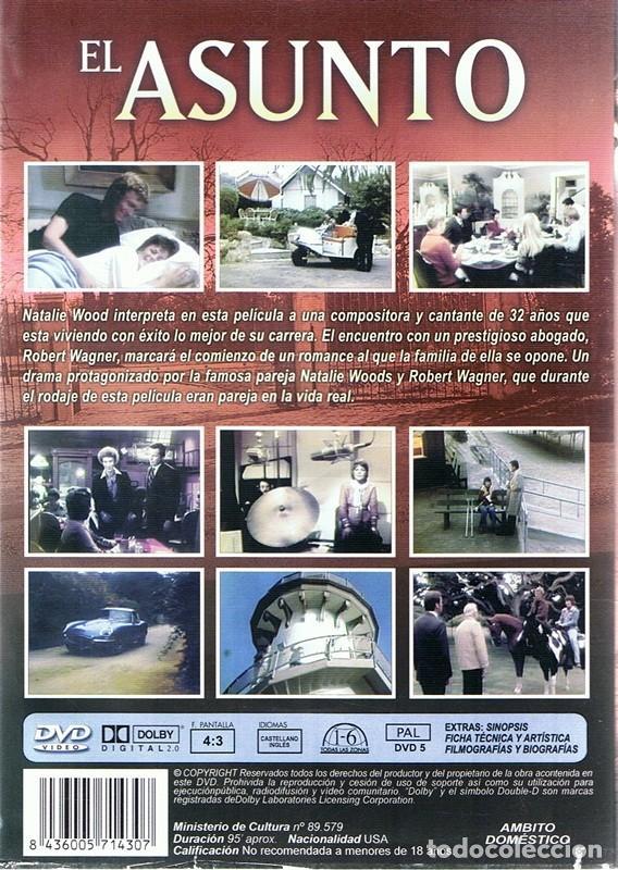 Cine: DVD EL ASUNTO NATALIE WOOD - Foto 2 - 98791763