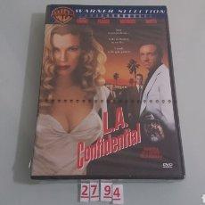 Cine: L.A CONFIDENTIAL (DVD NUEVO PRECINTADO). Lote 98815994