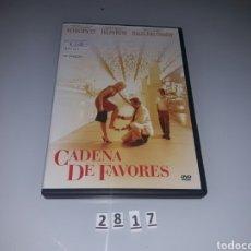 Cine: CADENA DE FAVORES ( DVD SEGUNDAMANO ). Lote 98815999