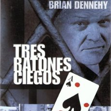 Cine: DVD TRES RATONES CIEGOS BRIAN DENNEGHY . Lote 98816151