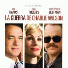 Cine: DVD LA GUERRA DE CHARLIE WILSON TOM HANKS . Lote 98816235