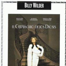 Cine: DVD EL CREPÚSCULO DE LOS DIOSES GLORIA SWANSON . Lote 98816303