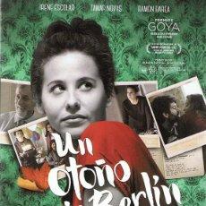 Cine: DVD UN OTOÑO SIN BERLÍN IRENE ESCOLAR. Lote 98816347