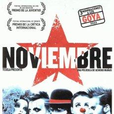 Cine: DVD NOVIEMBRE . Lote 98816443