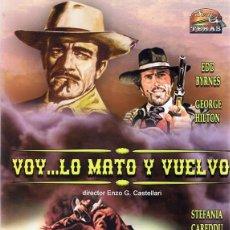 Cine: DVD VOY... LO MATO Y VUELVO EDD BYRNES. Lote 98816491