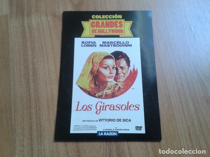 LOS GIRASOLES - SOFÍA LOREN - MARCELLO MASTROIANNI - COLECCIÓN GRANDES DE HOLLYWOOD - LA RAZÓN (Cine - Películas - DVD)