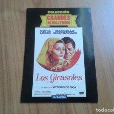 Cine: LOS GIRASOLES - SOFÍA LOREN - MARCELLO MASTROIANNI - COLECCIÓN GRANDES DE HOLLYWOOD - LA RAZÓN. Lote 98866231