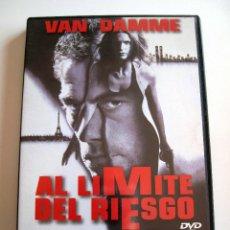 Cine: AL LIMITE DEL RIESGO • DVD COMO NUEVO • VAN DAMME. Lote 57780172