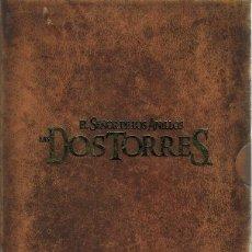 Cine: EL SEÑOR DE LOS ANILLOS ¨LAS DOS TORRES¨ (VERSIÓN EXTENDIDA 4 DVD) . Lote 98879755