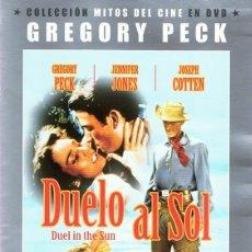 Cine: DVD DUELO AL SOL GREGORY PECK . Lote 98881539