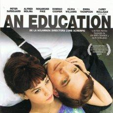 Cine: DVD AN EDUCATION EMMA THOMPSON . Lote 98989867
