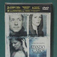 Cine: ATANDO CABOS. SPACEY / MOORE / DENCH / BLANCHETT. DVD PRECINTADO. Lote 99128471