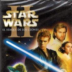 Cine: DVD STAR WARS II EL ATAQUE DE LOS CLONES (PRECINTADO). Lote 99151923