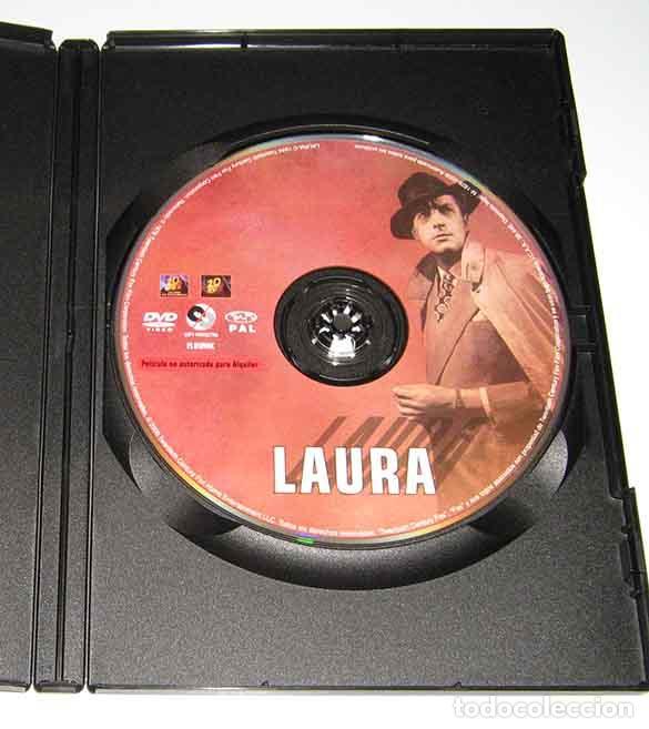 Cine: LAURA - OTTO PREMINGER - GENE TIERNEY Y DANA ANDREWS - DVD - Foto 3 - 99453059