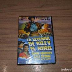 Cine: LA LEYENDA DE BILLY EL NIÑO DVD AUDIE MURPHY NUEVA PRECINTADA. Lote 194860245