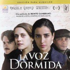 Cine: DVD LA VOZ DORMIDA INMA CUESTA . Lote 99650871