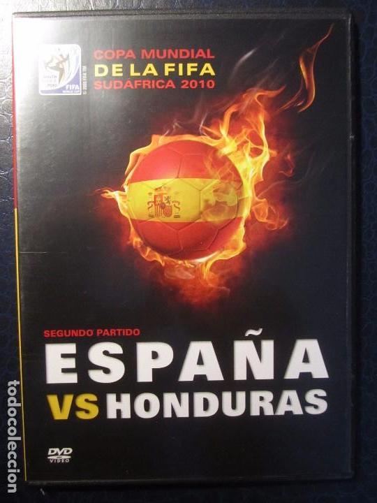 COPA MUNDIAL DE LA FIFA. SUDAFRICA 2010. ESPAÑA VS HONDURAS. DVD DEL PARTIDO. (Cine - Películas - DVD)
