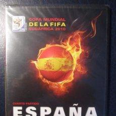 Cine: COPA MUNDIAL DE LA FIFA. SUDAFRICA 2010. ESPAÑA VS PORTUGAL. DVD DEL PARTIDO. NUEVO A ESTRENAR.. Lote 99720331