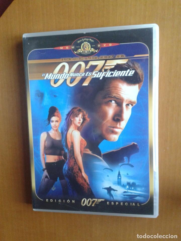CINE DVD PELICULA EL MUNDO NUNCA ES SUFICIENTE,JAMES BOND AGENTE 007 (Cine - Películas - DVD)