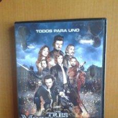 Cine: CINE DVD PELICULA LOS TRES MOSQUETEROS. Lote 99834603