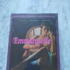 Cine: PELICULA EMMANUELLE. EDICION DE LUJO PARA COLECCIONISTAS.. Lote 99847643