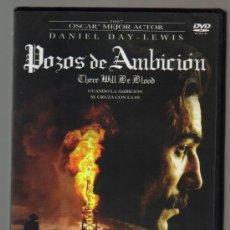 Cine: DVD CINE - POZOS DE AMBICION - NUEVO CON EL PRECINTO ORIGINAL . Lote 99897987