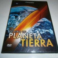Cine: DENTRO DEL PLANETA TIERRA - DVD NUEVO Y PRECINTADO - DISCOVERY. Lote 99900163