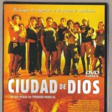 Cine: DVD CINE - CIUDAD DE DIOS - NUEVO CON EL PRECINTO ORIGINAL . Lote 99925759