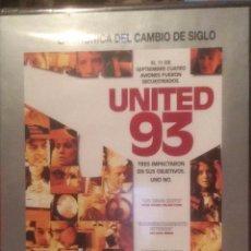 Cine: UNITED 93. DVD EL MUNDO. XX-XXI: LA CRONICA DEL CAMBIO DE SIGLO.. Lote 100020487