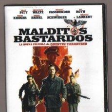 Cine: DVD CINE - MALDITOS BASTARDOS - NUEVO CON EL PRECINTO ORIGINAL . Lote 100029079
