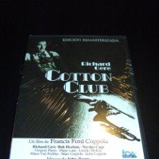 Cine: DVD - COTTON CLUB - EDICIÓN REMASTERIZADA - RICHARD GERE - FRANCIS FORD COPPOLA. Lote 100038111