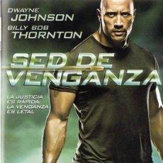 Cine: DVD SED DE VENGANZA DWAYNE JOHNSON . Lote 100045571